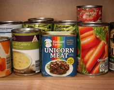 Canned #Unicorn Meat