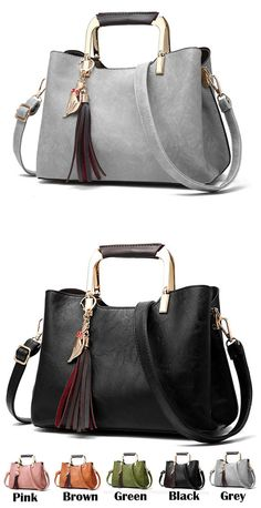 a59be87cfe45 Elegant Girl s PU Leather Handbag Casual Tote Shoulder Bag for big sale !  handbag