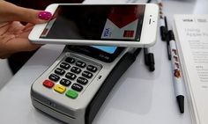 Apple Inc.'s mobile payment technology ran into a roadblock a week after its introduction as CVS Health Corp. and Rite Aid Corp., part of a consortium developing a competing system, disabled Apple Pay in their drugstores. Iphone 5s, Mobiles, Funding Circle, Apple Pay, Ios Apple, Ing Direct, Mobile Security, France, Financial Institutions