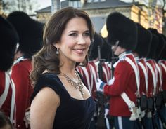 Crown Princess Mary of Denmark recycles her favourite necklace into tiara for gala night