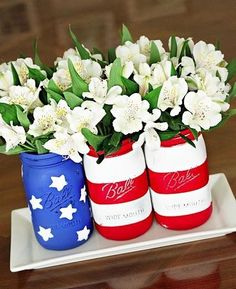 How cute would these be at your next 4th of July party?