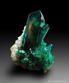 Dioptase. A superb example.