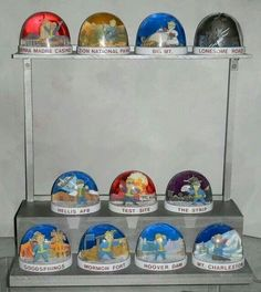 Fallout New Vegas Snowglobes.  Wow, someone did a very nice job on these.