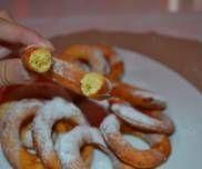 Całuski - oponki serowe Shrimp, Meat, Food, Essen, Meals, Yemek, Eten