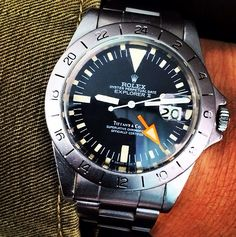 Rolex Explorer II Tiffany & Co.