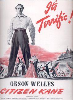 March 3, 1941 Orson Welles Citizen Kane movie ad (#3469)