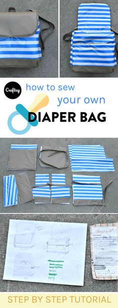 Are you or a friend expecting a new baby? A diaper bag is an essential accessory for any new mom. Stay organized on the go with this free diaper bag sewing tutorial.