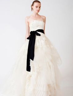 Vera Wang Luxe Eliza Couture Bridal Gown~ http://www.yourdreamdress.com/vera-wang-luxe-eliza-couture-bridal-gown.html