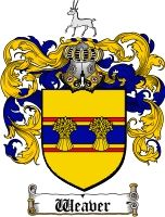 $8.99 Weaver Family Crest / Weaver Coat of Arms - Download Family Crests