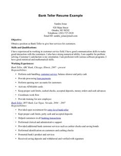bank teller responsibilities resume bank teller responsibilities resume we provide as reference to make correct