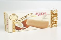 Coming Soon to Union Market's in Brooklyn, NY. Kaurina's Coconut Kulfi Bars.  Made with real coconut and coconut milk, & cooked milk, no preservatives, no eggs, only delicious! Union Market, Kulfi, Coconut Milk, Preserves, Brooklyn, Eggs, Sweet, Candy, Preserve
