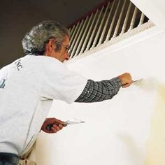 The Secrets of Pro Painters - step by step on prep, picking tools, painting techniques etc for interior rooms Interior Barn Doors, Interior S, Interior Painting, Interior Design, Painting Tips, House Painting, Painting Techniques, Painting Walls, Home Improvement Projects