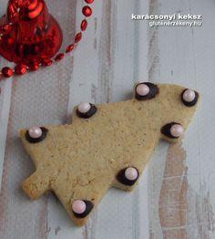 karácsonyi gluténmentes mézeskalács keksz