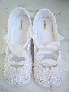 Champagne Wedding Ballet Shoes Bridal Flats Bobka By BobkaBaby, $199.00 |  Someday | Pinterest | Bridal Flats, Ballet Shoe And Ana Rosa