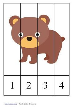Pre K Activities, Toddler Learning Activities, Preschool Learning Activities, Preschool Science, Preschool Activities, Kids Learning, Baby Quiet Book, Bear Crafts, Math For Kids