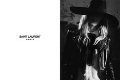 Edie Campbell, Julia Nobis and the singer Beck are the protagonists of the advertising campaign for the French Maison Hedi Slimane, Saint Laurent Paris, Fashion Brand, Fashion Models, Women's Fashion, Ysl Paris, Valery Kaufman, Liya Kebede, Karen Elson