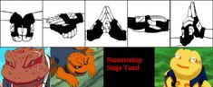 Toad Summoning- Hand Signs by Bogardeth on DeviantArt