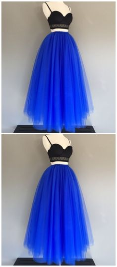 Floor length tulle skirt, royal blue tulle skirt by Ai prom dresses, $110.29 USD Classy Prom Dresses, Cute Homecoming Dresses, Prom Dresses 2018, Ball Gown Dresses, Sexy Dresses, Evening Dresses, Short Dresses, New Party Dress, Party Dresses