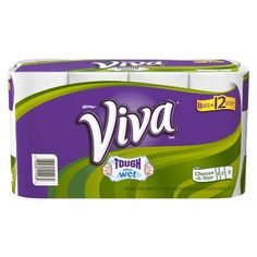 16-Ct Giant Roll Viva Paper Towels + $5 Gift Card $19 & More + Free Shipping