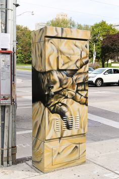painted utility boxes - Google Search