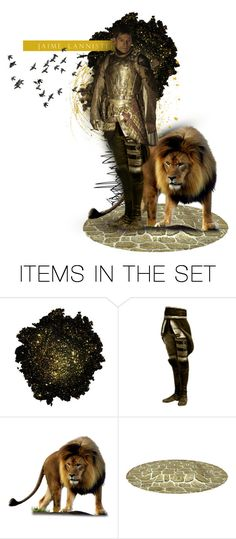 """""""Jaime Lannister"""" by minapap ❤ liked on Polyvore featuring art, GameOfThrones and jaimelannister"""
