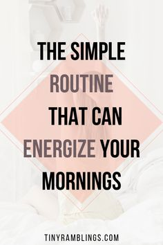 A simple, energizing morning routine to start your day off right. Tune into your mind, set priorities, and take action where you want to be more productive. Use this routine to kick-start your day. Good Time Management, Stress Management, Yoga Routine, Self Care Routine, Evening Routine, Hip Workout, All Family, Positive Attitude, Best Self