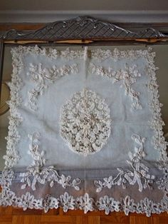 The most beautiful lace tapestry EVER!!