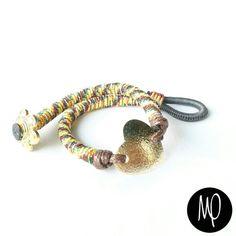 Pulsera - Corazon - Colores - GoldFilled y Baño de oro #amor #love #loveisallyouneed #loveisallweneed #justlove