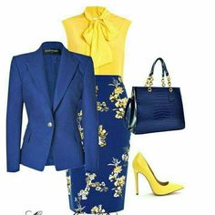 4 Factors to Consider when Shopping for African Fashion – Designer Fashion Tips Classy Outfits, Chic Outfits, Skirt Outfits, Beautiful Outfits, Work Fashion, Fashion Looks, Blue Fashion, Fashion Fashion, Trendy Fashion