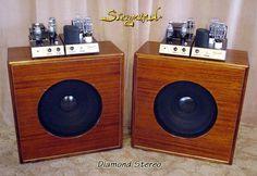 Siegmund Diamond | 300B tube guitar amplifier handmade