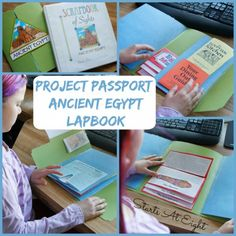 Project Passport: Ancient Egypt Lapbook from Homeschool in the Woods - Starts At Eight