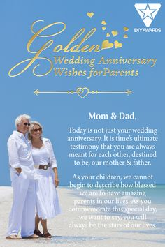 Our Golden Wedding Anniversary Gift celebrates fifty years of marriage, paying tribute to a life devoted to each other and to family. The crystal cathedral with golden accents is specially designed to honor devoted parents or that happy couple for such an extraordinary achievement. With a personal message or scripture, this piece is a beautifully elegant anniversary gift that will never be forgotten. Anniversary Wishes For Parents, Golden Wedding Anniversary Gifts, Crystal Cathedral, Crystal Gifts, Mother And Father, Mom And Dad, Unique Gifts, Marriage, Couple