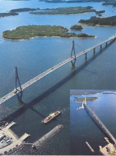 Mustasaari - Bridge of Raippaluoto. The Places Youll Go, Places To See, Native Country, Arctic Circle, Best Cities, Adventure Travel, Norway, Island, Tourism