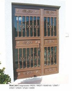 Door Gate Design, Decoration, China Cabinet, Home Decor, Wrought Iron, Iron Balcony, Decor, Decoration Home, Chinese Cabinet