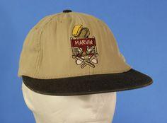 Marvin the Martian Fitted Hat Baseball Cap ACME Clothing Warner Brothers Tan USA #ACMEClothing #BaseballCap