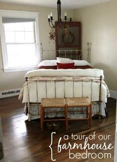 A Tour of Our Farmhouse Bedroom
