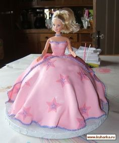 Barbie cake tut.