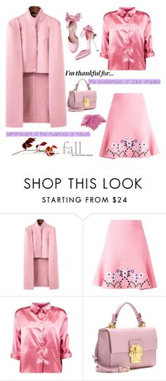 """""""I'm thankful for.."""" by nicolevalents ❤ liked on Polyvore featuring Peter Pilotto, Boohoo and Dolce&Gabbana"""
