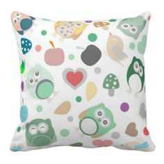 >>>Coupon Code          	Bright owls leafs mushrooms flowers pattern pillow           	Bright owls leafs mushrooms flowers pattern pillow lowest price for you. In addition you can compare price with another store and read helpful reviews. BuyDiscount Deals          	Bright owls leafs mushrooms...Cleck Hot Deals >>> http://www.zazzle.com/bright_owls_leafs_mushrooms_flowers_pattern_pillow-189458600203766008?rf=238627982471231924&zbar=1&tc=terrest