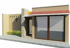 Mediterranean Homes Exterior, My House Plans, Feng Shui, Entrance Decor, My Dream Home, Home Interior Design, Home Remodeling, Architecture Design, Sweet Home