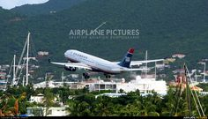 US Airways N286AY aircraft at St. Maarten, Princess Juliana Int.