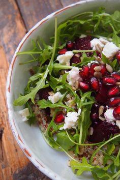 Salade quinoa et betterave inspirée de Californie/ Paris dans ma cuisine