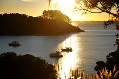 View from Matapana House, Palm Beach, Waiheke Island