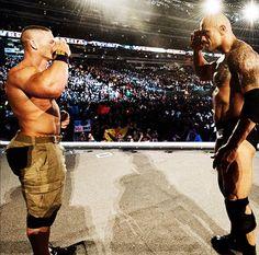 John Cena and The Rock John Cena Wwe Champion, John Cena Wrestling, Watch Wrestling, Wrestling Wwe, The Rock Dwayne Johnson, Dwayne The Rock, Rock Johnson, Wwe The Rock, Wwe Wallpapers
