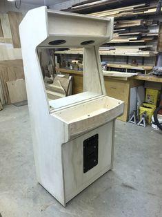 New Cabinet Build: Lakeside Arcade - plenty of pics. Pi Arcade, Bartop Arcade, Arcade Game Room, Arcade Stick, Retro Arcade, Arcade Games, Gaming Cabinet, Arcade Cabinet Plans, Mame Cabinet