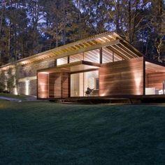 Ein modernes Landhaus