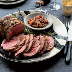 Roast Leg of Lamb with Rosemary and Lavender Recipe - Delish.com