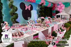 Beabá Festas Personalizadas: Minnie da Valentina