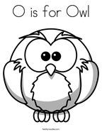 O is for Owl Coloring Page Fall Coloring Sheets, Bird Coloring Pages, Adult Coloring Book Pages, Cartoon Coloring Pages, Coloring Books, Owl Facts, Anatomy Coloring Book, Owl Kids, Owl Books