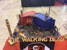 The walking dead Miniature scenery , diorama by FGDiorama , scale 1:35